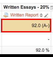 Moodle28 Overriden Grade in Grader Report